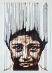 Daniel-Eime, Portrait, Stencil, brown, boy