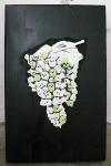 grapes-2011-ludo-50x77x6cm-mixed-mediasilkscreenacrylic-on-cardboard-edition-of-2-300-euros, artwork,