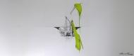mantis-2011-ludo-300x130cm-graphiteoil-on-paper, artwork,