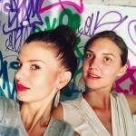 Catherine Eisendle + Alexandra Keepsmile at Starkart