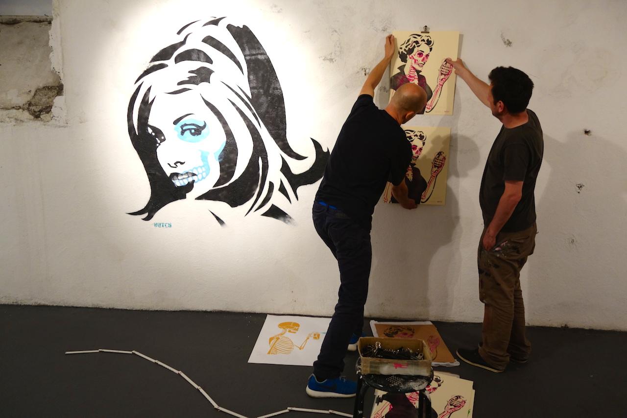 Stencil Bastards 3 opening 2014