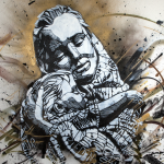 C215 Peace Stencil 2013 Starkart