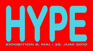 Hype Exhibition Flyer