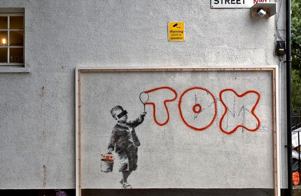 Banksy-streetart
