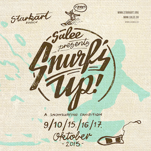 Surf up's flyer